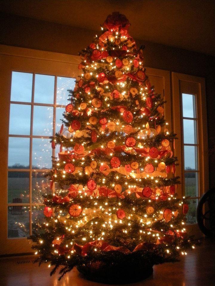 35 Orange Theme Christmas Tree Decorations Ideas Decoration Love Christmas Tree Decorating Themes Christmas Tree Themes Halloween Decorations Diy Outdoor