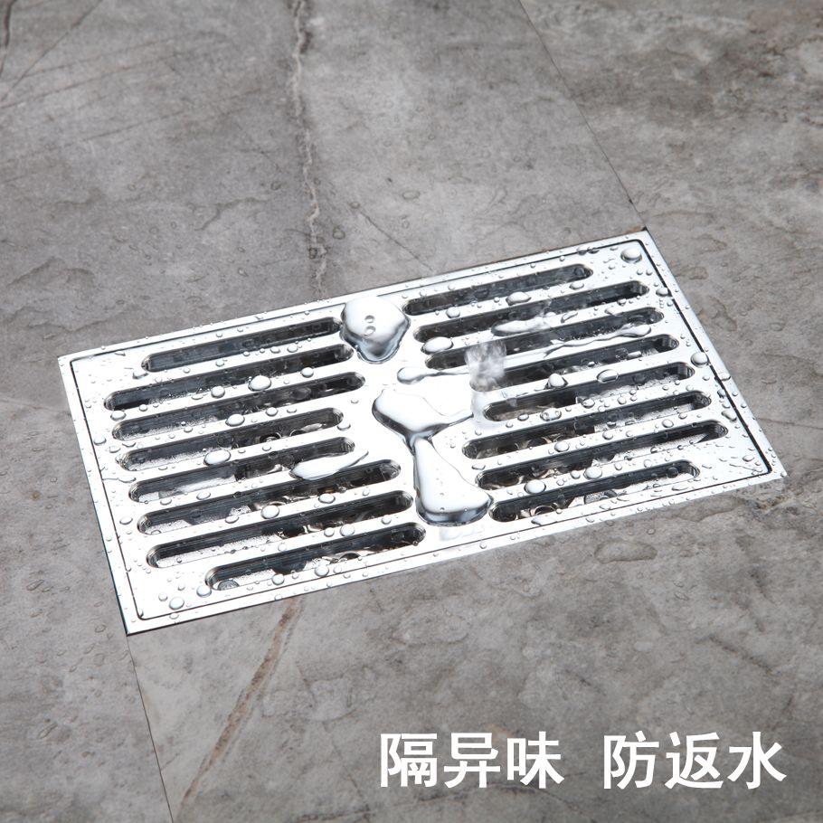 Deodorant Filter Floor Drain Large Displacement Sink Bathroom Toilet Blocking Square Invisible Balcony Floor Drains Shower Floor Bathroom Flooring