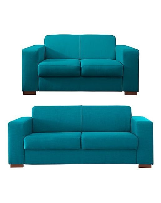 Teal 3 Plus 2 Seater Sofa New But Nqp Local Delivery 200 Saving