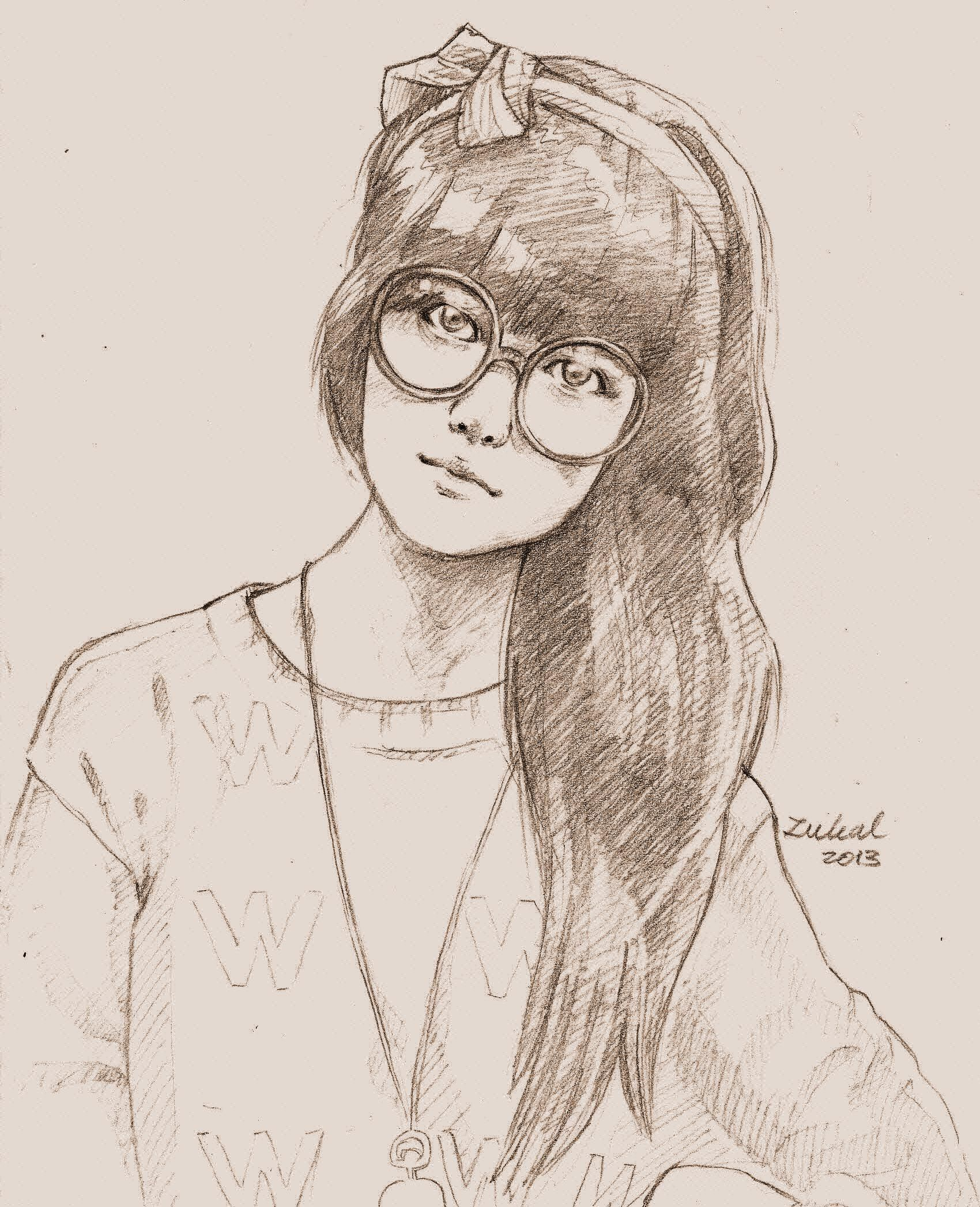 sketch pencil -sonia eryka-