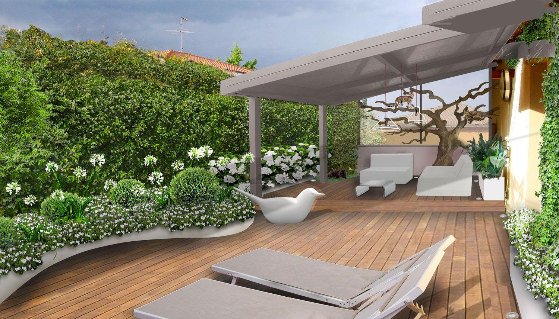 Il terrazzo per i gatti. Design by Verde Progetto