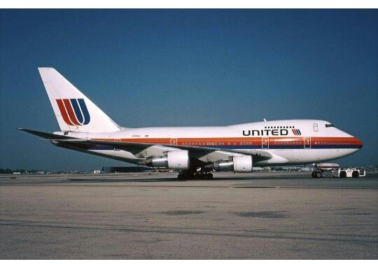 United Airlines B747 Vintage Aircraft Aircraft Boeing Aircraft