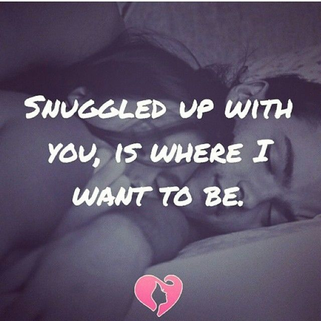 Snuggled Up With You