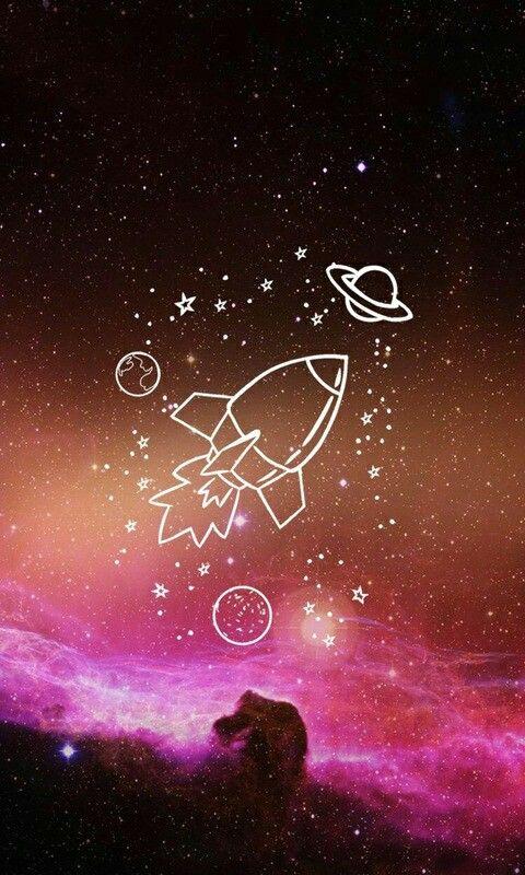 Wallpaper Space Tumblr Papel De Parede Galaxia Tumblr Segue Ai