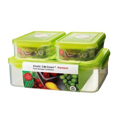 Kinetic Fresh 6 Container Food Storage Set With Images Food