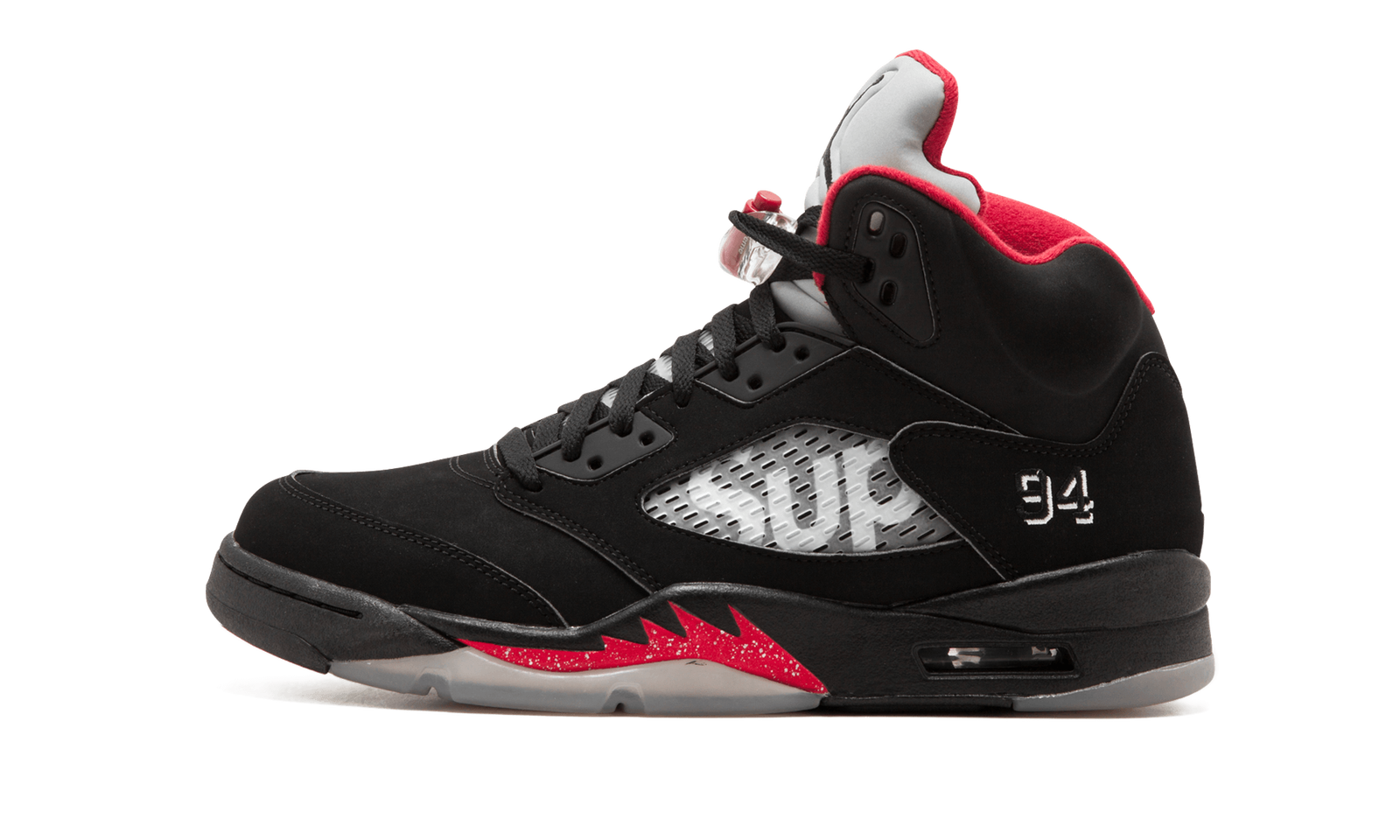 "Air Jordan 5 Retro Supreme ""Supreme"" 824371 001 2015"