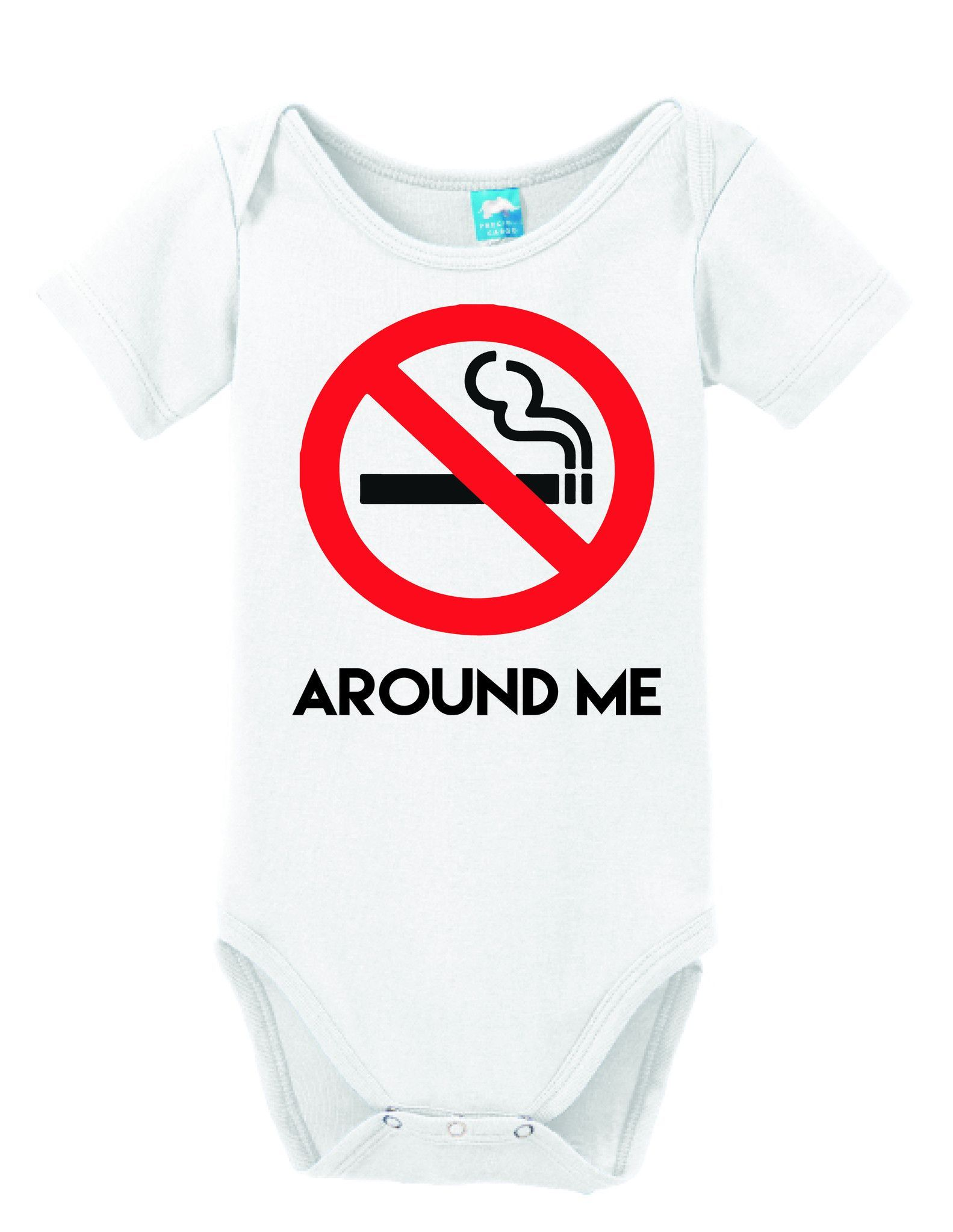 Baby Clothes Near Me Captivating No Smoking Around Me  Onesie Babies And Baby Onesie Inspiration