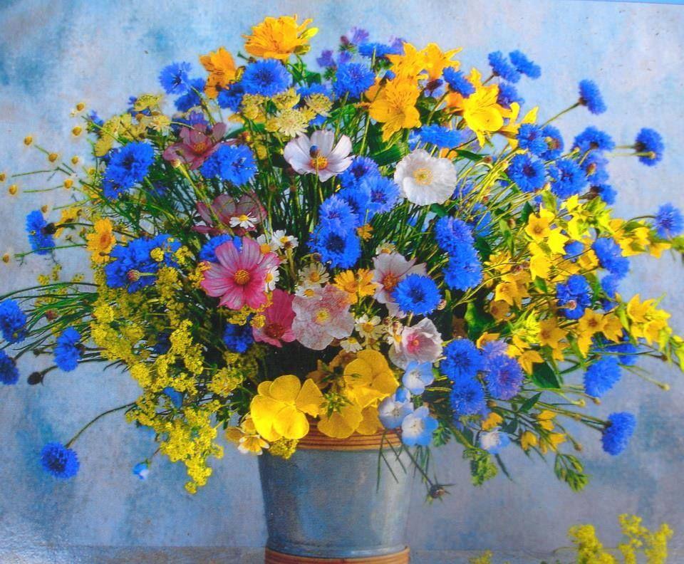 Букет полевые цветы, дешевые