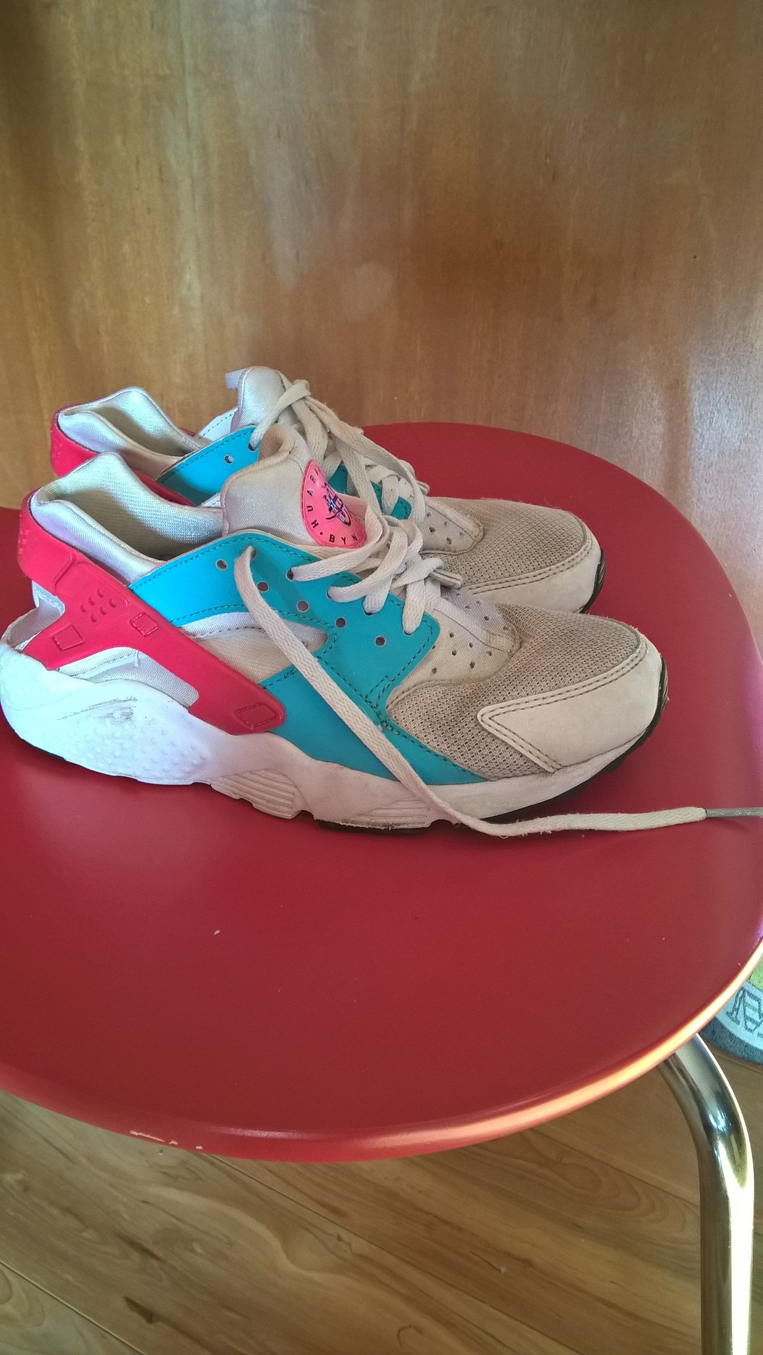 Superar despreciar Suplemento  Vintage 90's Nike Air Huarache Trainers Girls Nike Sneakers Shoes ...