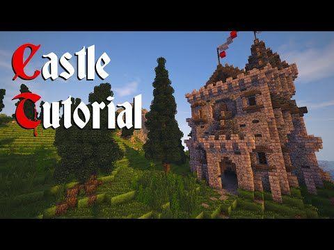 Minecraft Ruined Tower Tutorial Youtube Minecraft Castle