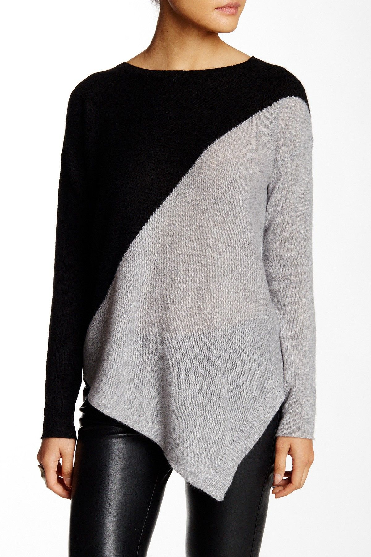 Angie Asymmetrical Cashmere Sweater Cashmere Sweaters Cashmere
