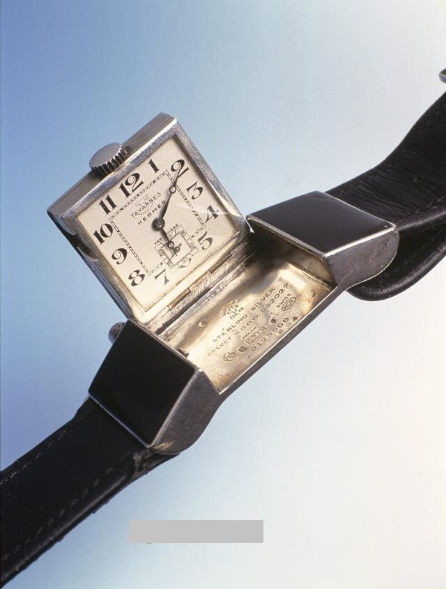 Silver Hermes Belt buckle watch - Made by Tavannes    Very Rare    - you  can shop it on ebay store