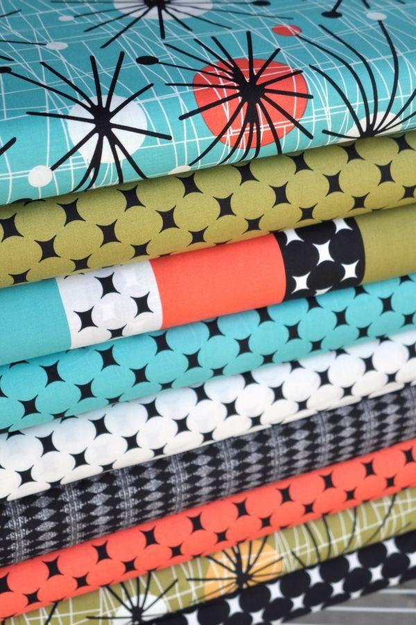 Mod Fabric Mid Century Modern Decor Mid Century Decor Mid Century Modern Style Mid century modern fabric reproductions
