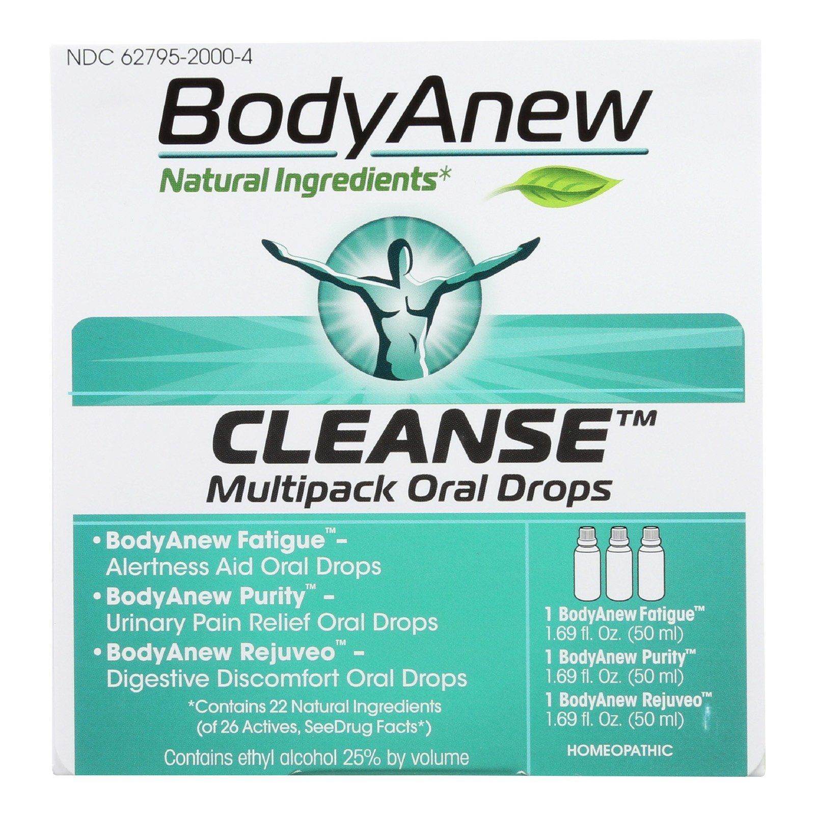 Bodyanew Cleanse Multipack Oral Drops 50 Ml 3 Ct In 2019