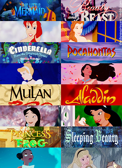 Does any one else notice that Jasmine is the only one of ...