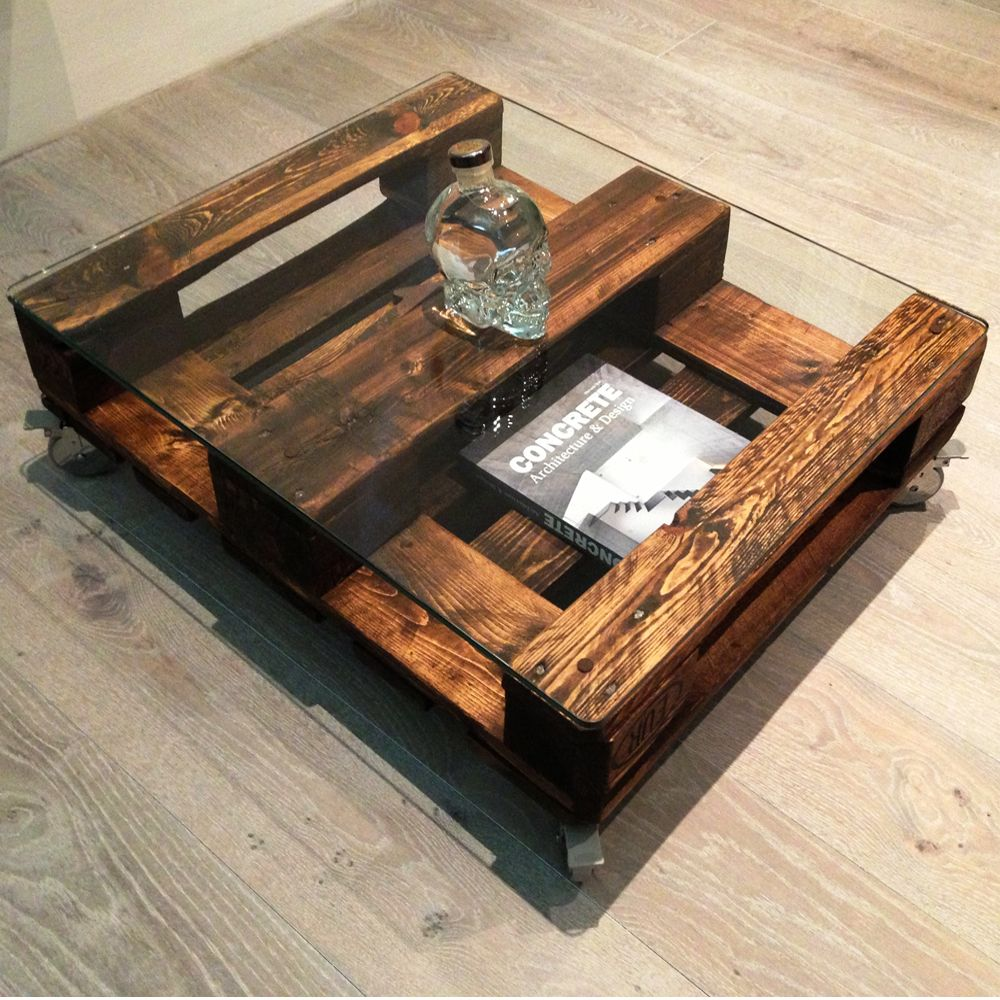 Built To Last Crate Coffee Table In