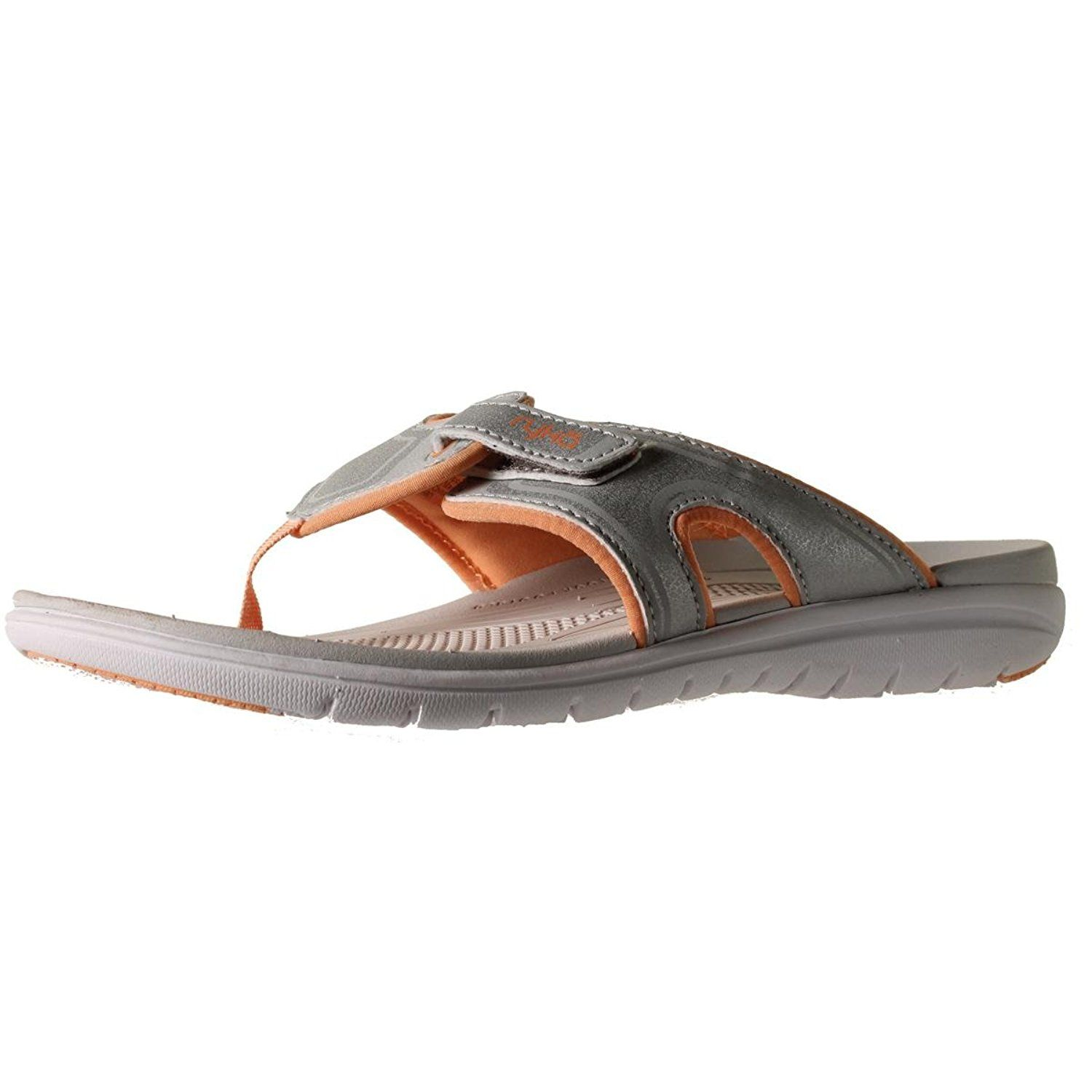 4610d275b74c4b Ryka Womens Shimmy Faux Leather Slide Flip-Flops   To view further for this  item
