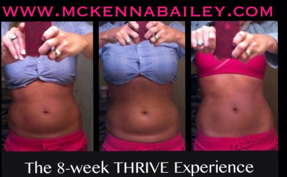 Results From Thrive 3 Steps To Great Results 1 Capsule 2 Shake 3