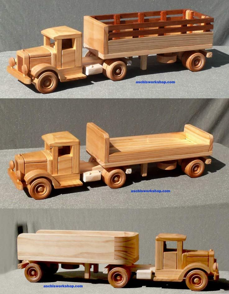 Woodworking Plans Toy Truck : Truck toys plans wooden Деревянные игрушки