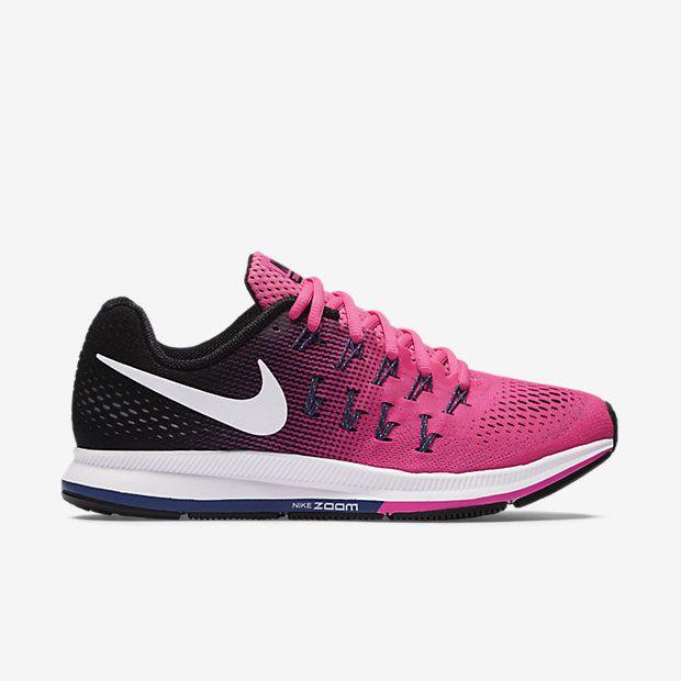 Nike Air Zoom Pegasus 33 Womens Running Shoes 7.5 Pink Blast Purple 831356  600…