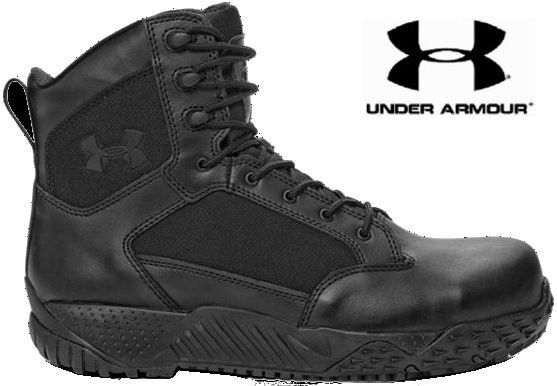 Under Armour Black Stellar Tactical Protect Boots UA