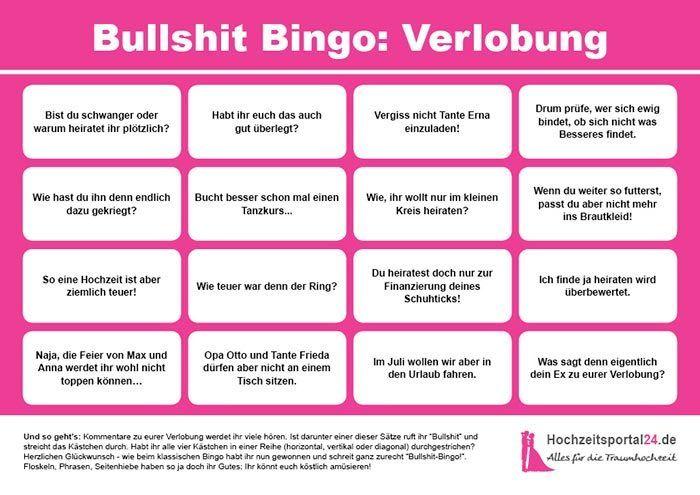 3 Vorlagen Furs Bullshit Bingo