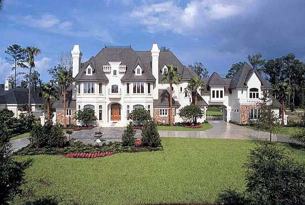 Plan 63132hd French Chateau To Call Your Own French Country House Plans Luxury House Plans French Country House