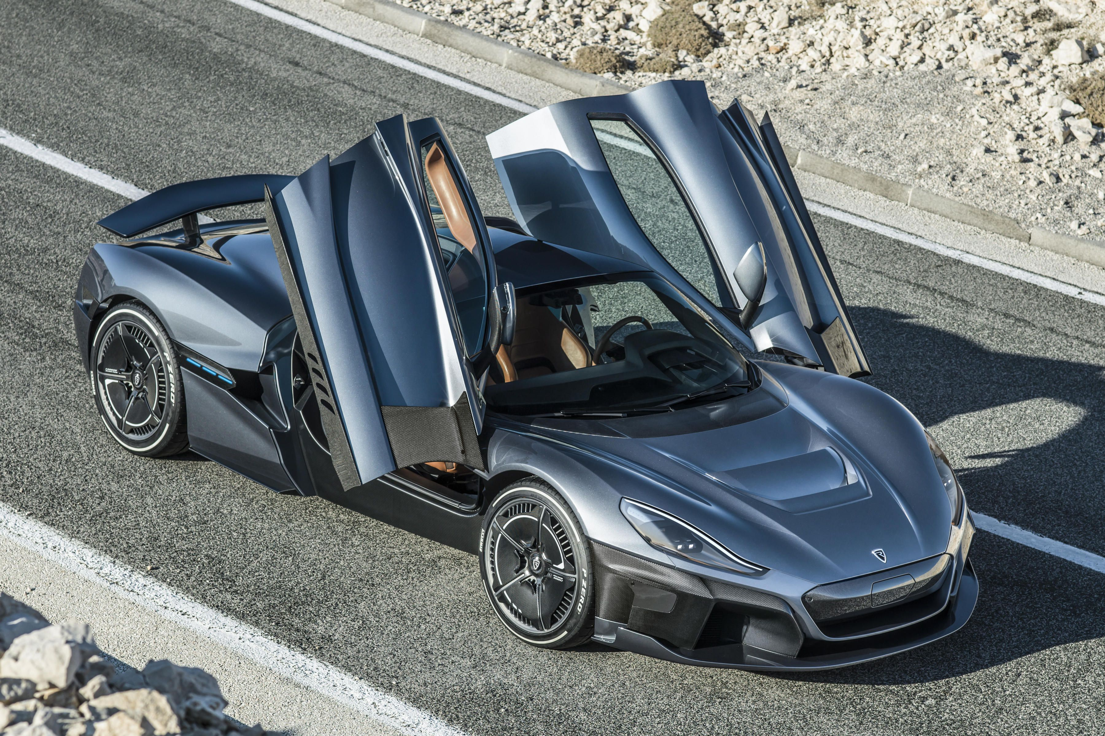 Rimac C Two Is A Gonzo 1 914 Horsepower Electric Hypercar In 2020 Best Luxury Sports Car Super Cars Sports Cars Luxury