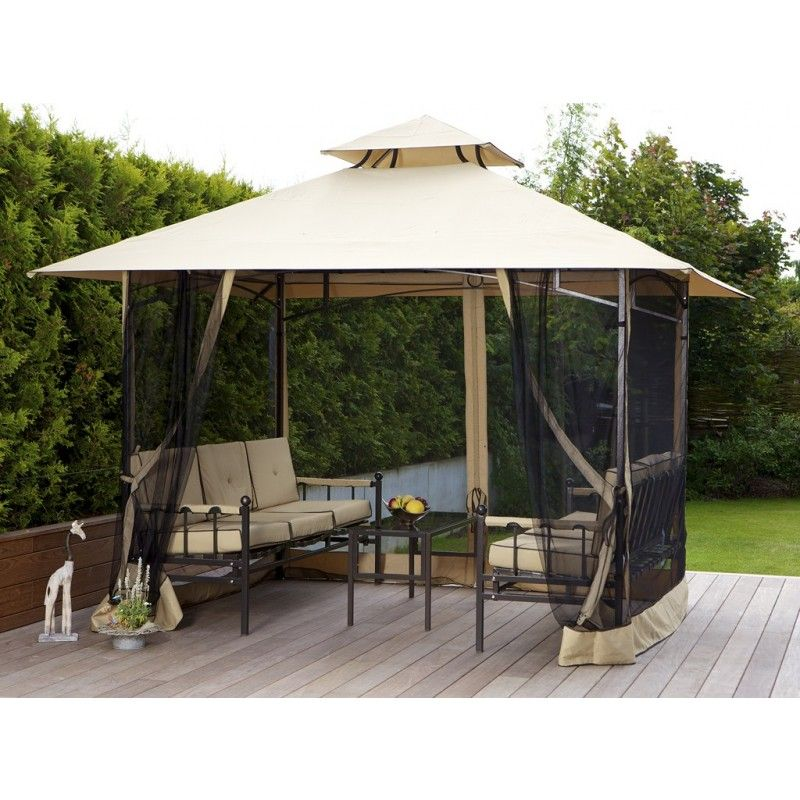 garten pavillon antigua inkl b nken u tisch ihr online shop f r exklusive gartenm bel. Black Bedroom Furniture Sets. Home Design Ideas