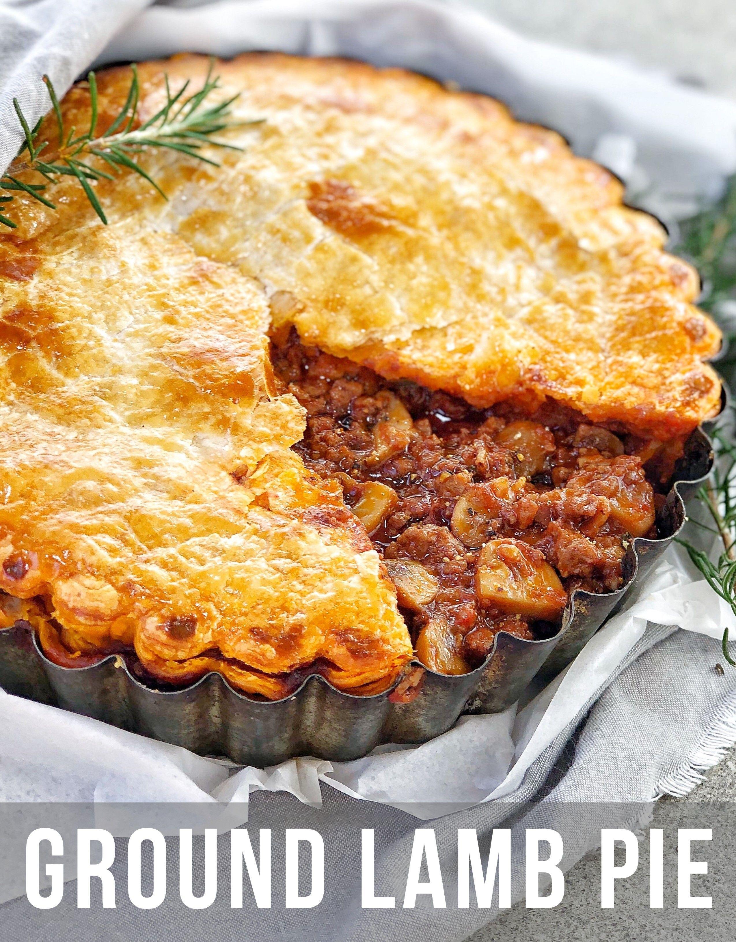 Lamb Pie In 2020 Lamb Pie Lamb Pie Recipes Lamb Mince Recipes