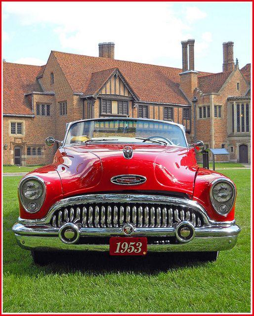 1953 Buick Skylark Buick Motor Car Company Flint Michigan