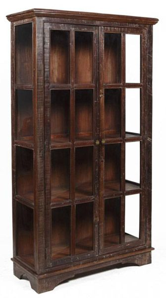 Bea Wooden Curio Cabinet 82 Inches High X 46 Wide 18 Deep