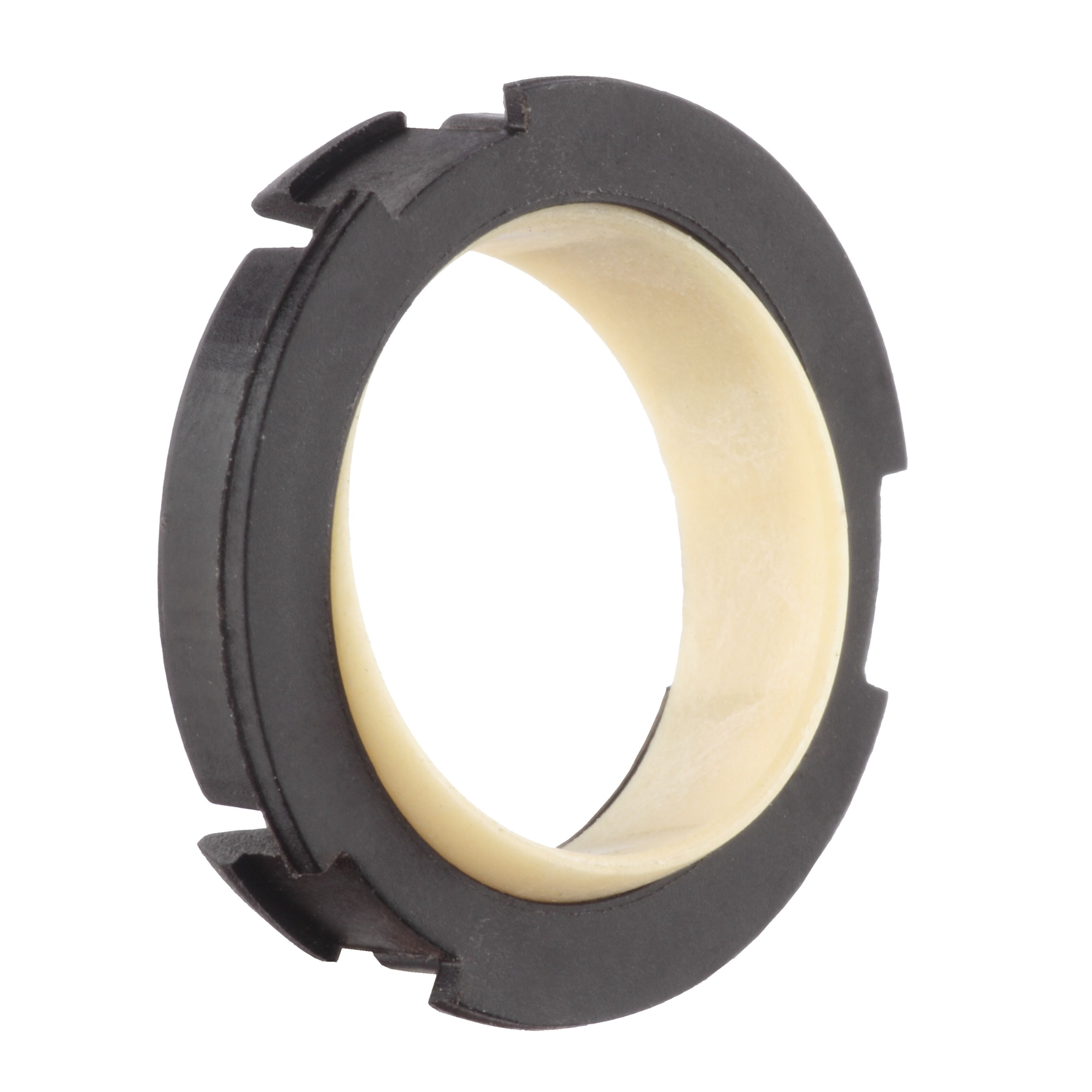 double flange bearing. igubal pressfit spherical double flange bearing: clip on. bearing