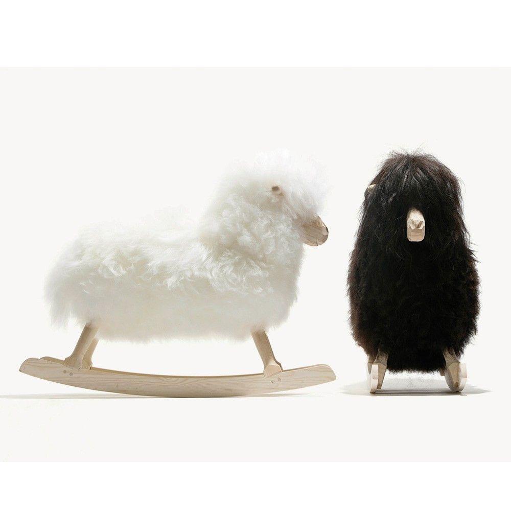 Danish Crafts Rocking Sheep - Black