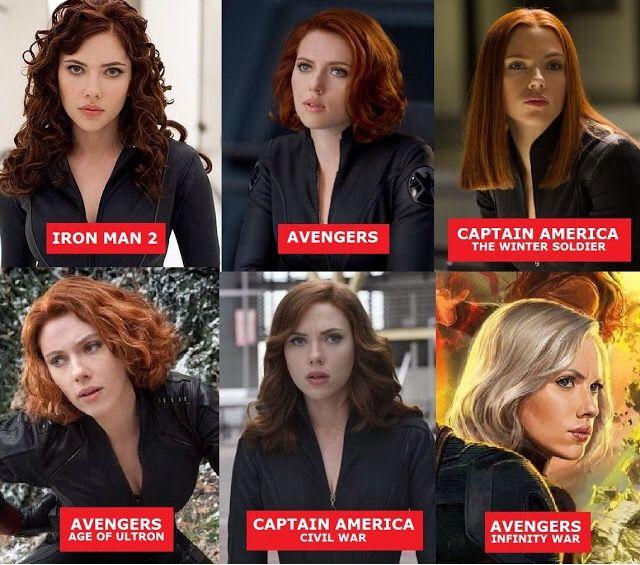 Black Widow Hairstyles Black Widow Marvel Black Widow Avengers