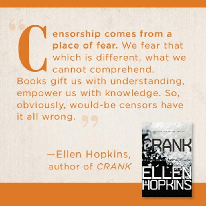 Ellen Hopkins Quote Freedom To Read Week Reading Quotes Book Quotes Reading Books Quotes