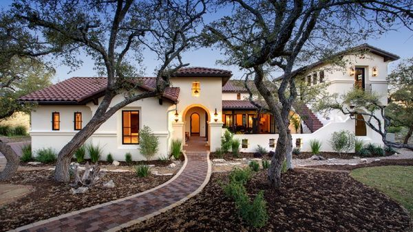 Blending Two Traditions U2014 Spanish Hacienda And Contemporary Style, By  Geschke Group