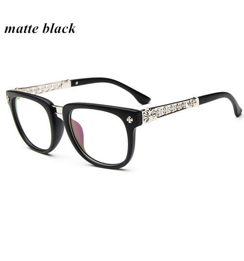 147f3ac2cc5 Aliexpress.com   Buy 2016 New Fashion Frame Plain Glasses For Men Women  Brand Design Optical Eyeglasses Retro Glasses frame Oculos De Grau from  Reliable ...