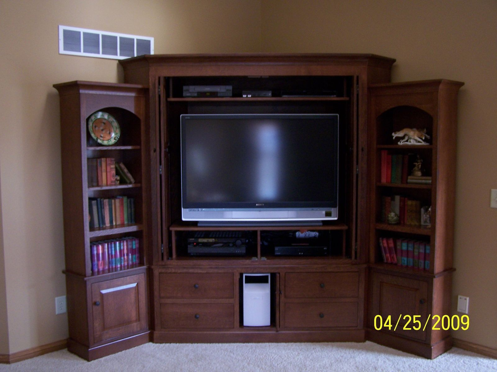 Want A Corner Cabinet And A Tv To Put In It New Home
