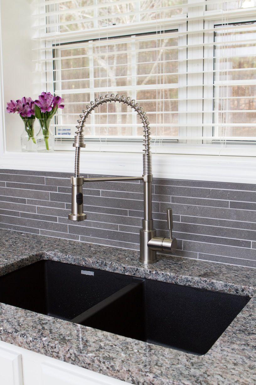 Kitchen | Blanco Precis-Equal Double Bowl & Meridian Semi ...