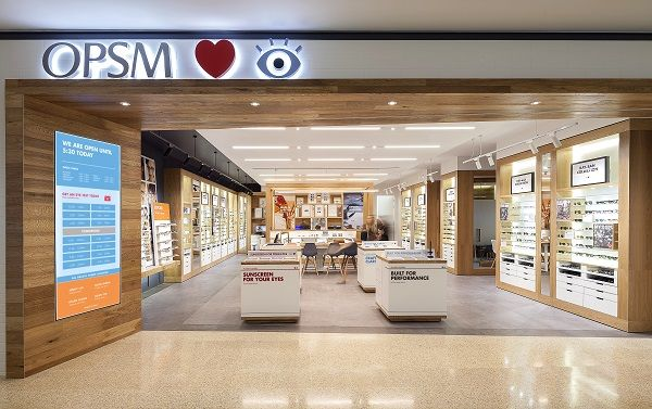 Design Showcase International Store Format For Luxottica Retail Design World Opsm Showcase Design Eyewear Store Design
