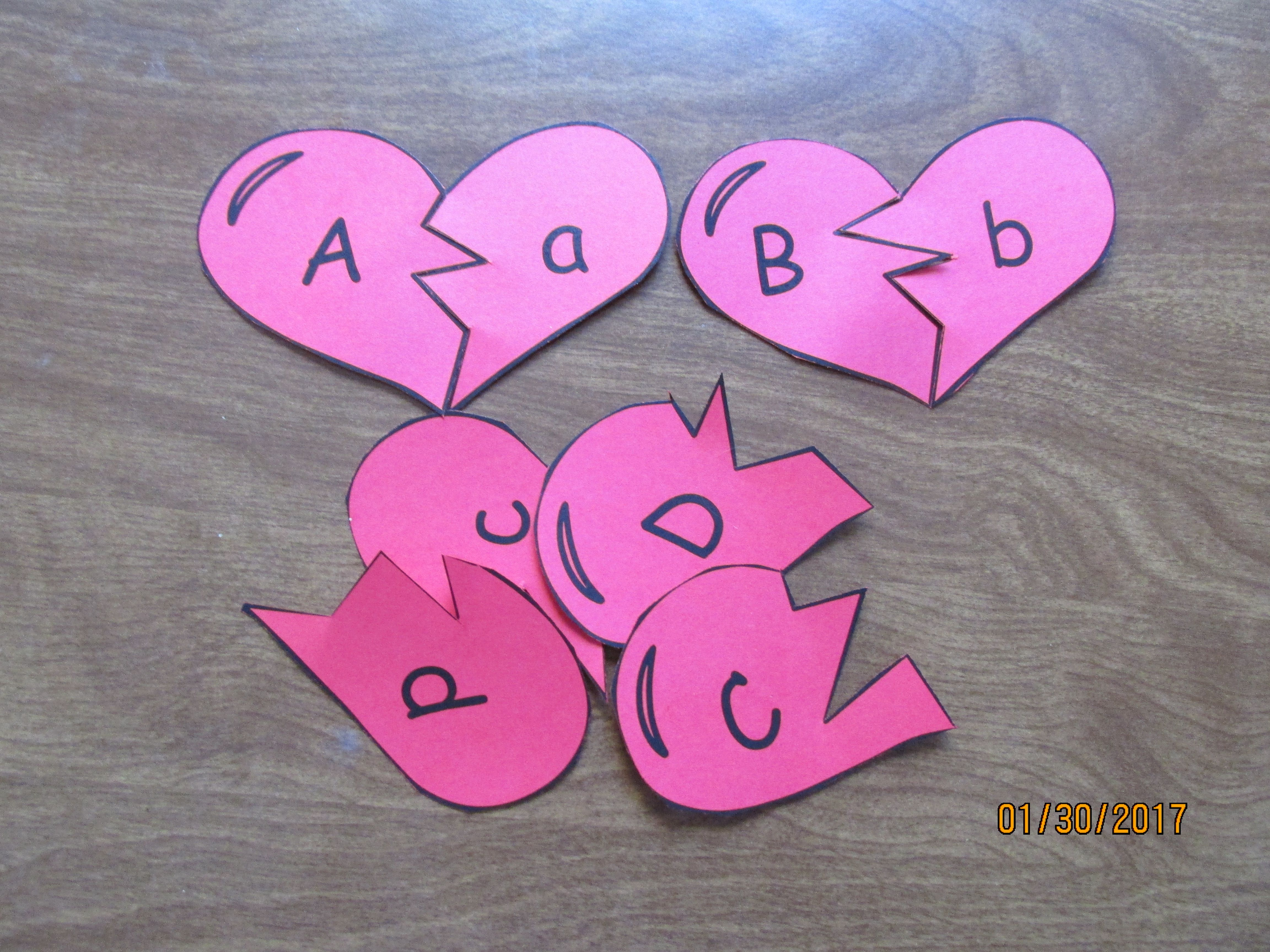 Kindergarten Valentine Math And Reading Centers With