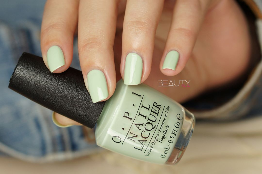 OPI Soft Shades Collection - This Cost Me A Mint | Perfectly