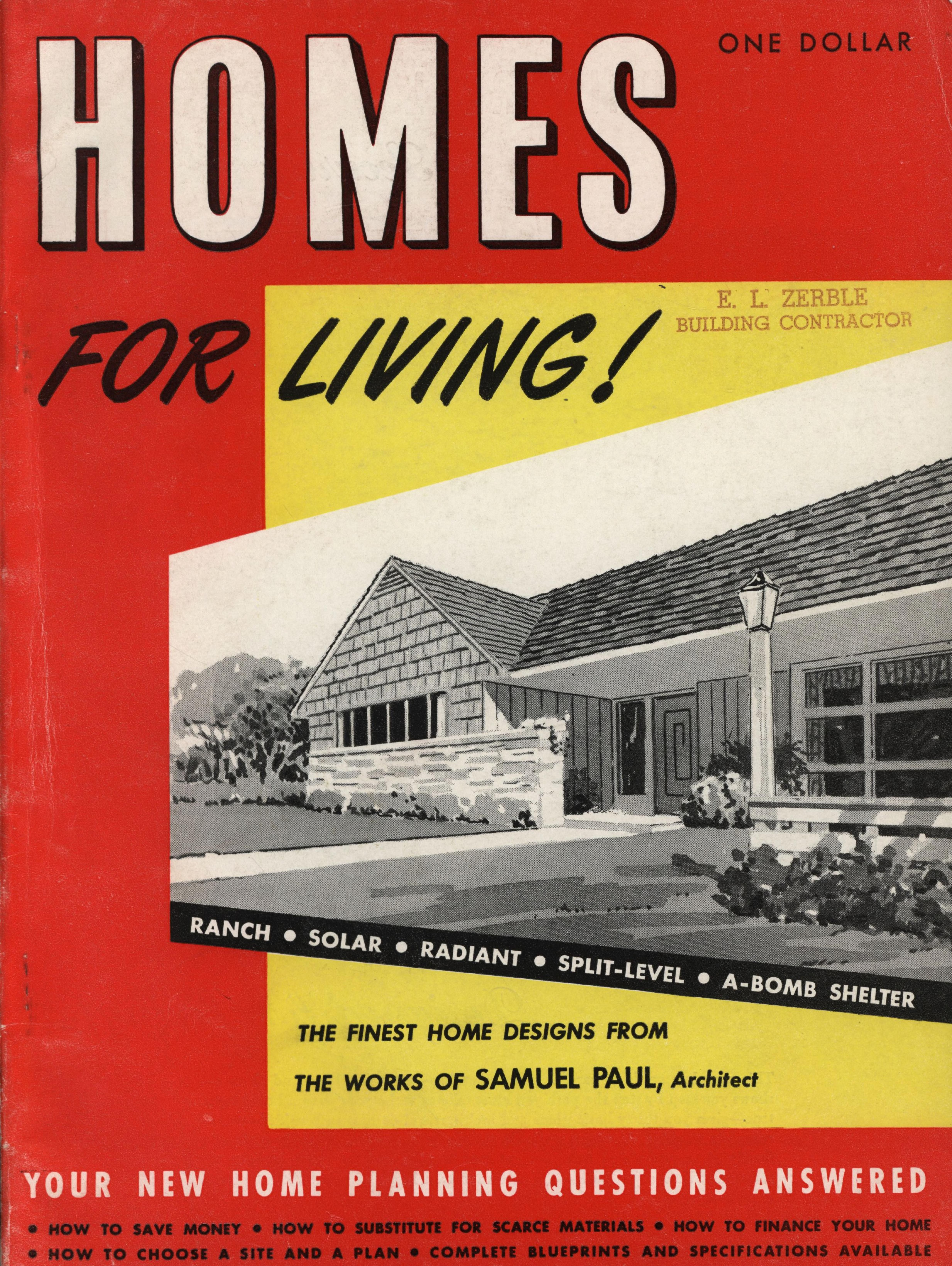 Homes for living: the finest home designs from the works ...