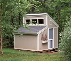 The Maxine 10 X 10 Garden Clerestory Shed At Menards Diy Shed Plans Shed Plans Building A Shed
