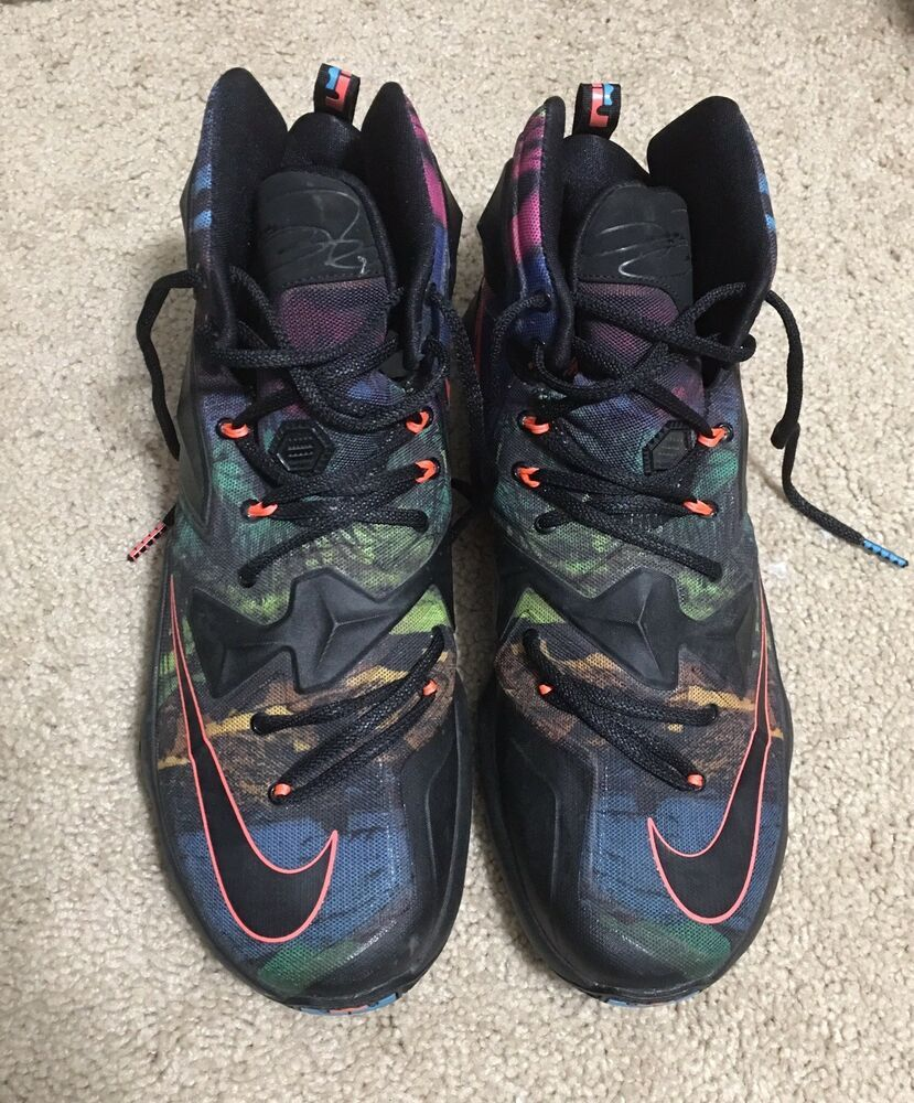 574d3c9dfc7 Nike LeBron XIII Akronite Philosophy Gym Basketball Shoes 807219-008 Men US  12  fashion. Visit. February 2019