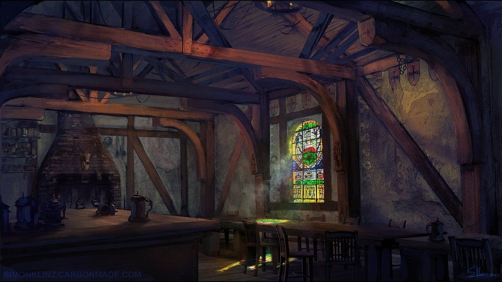ArtStation - Tavern, Simon Klinz