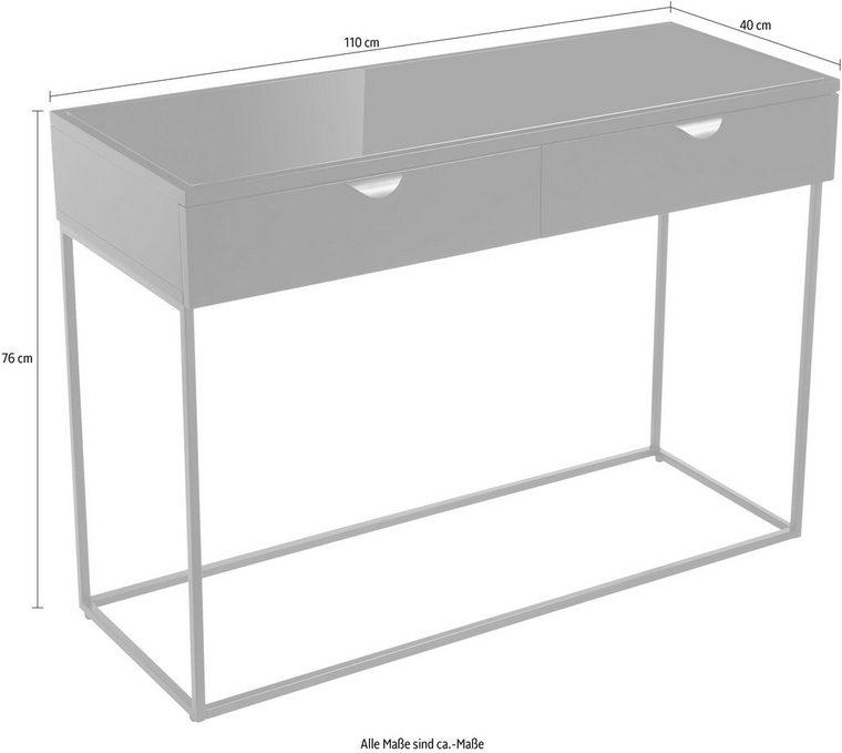 Elbgestoeber Konsolentisch Elbcontainer1 Mit Zwei Schubladen In 2020 Konsolentisch Konsolen Tisch Schubladen