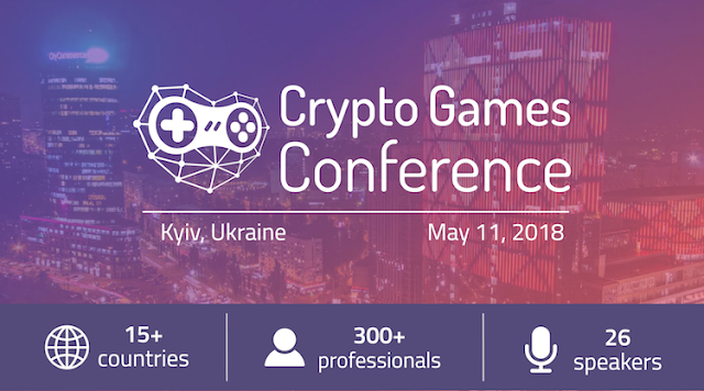 Crypto Games Conference 2018 Game conference, Games