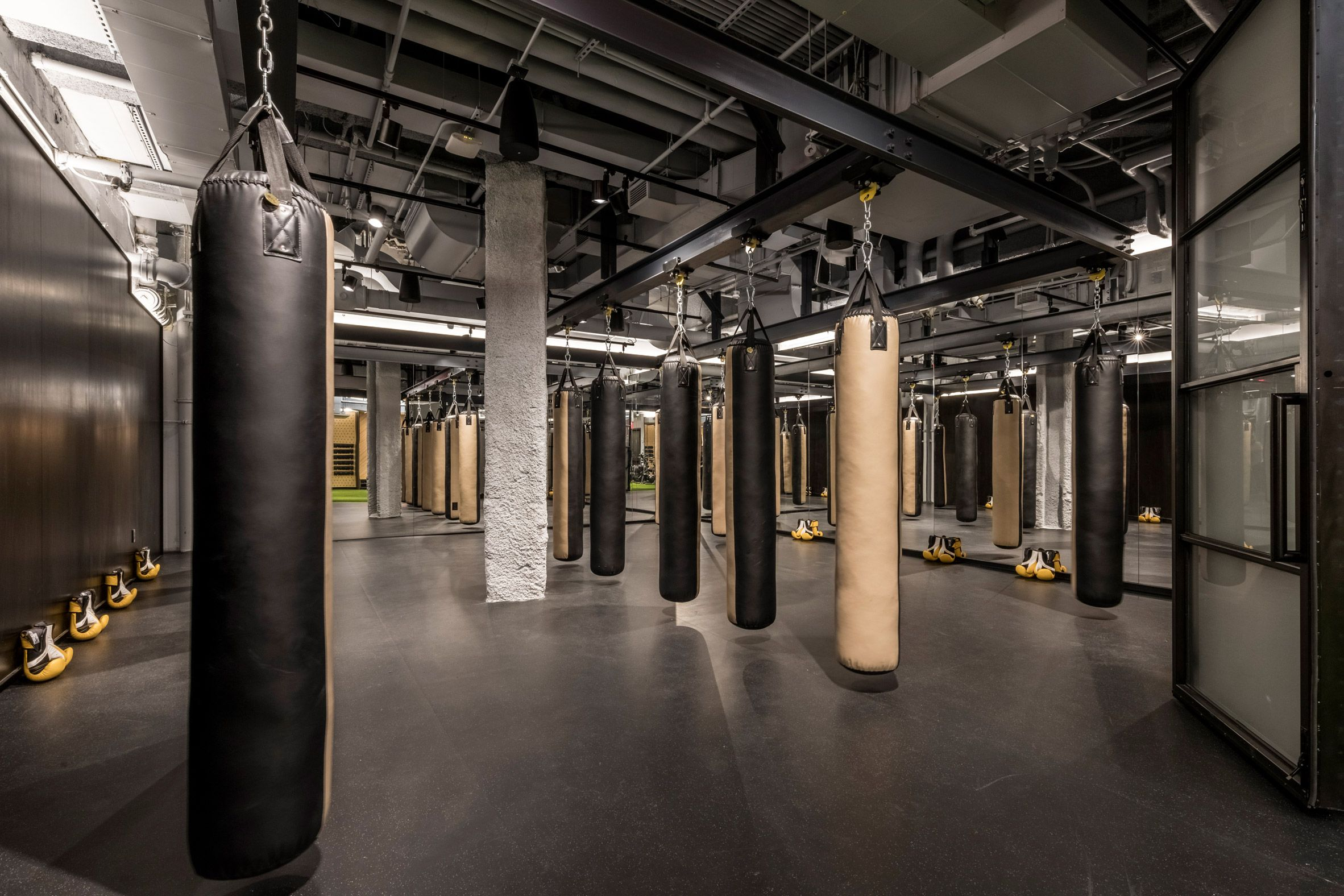 Rise By We By Wework With Images Gym Design Interior Boxing Gym Design Gym Interior